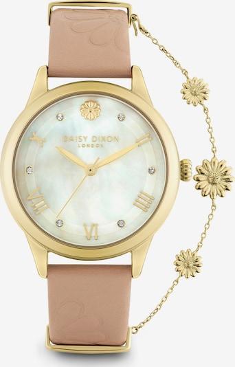 DAISY DIXON Uhr in gold / puder / perlweiß, Produktansicht