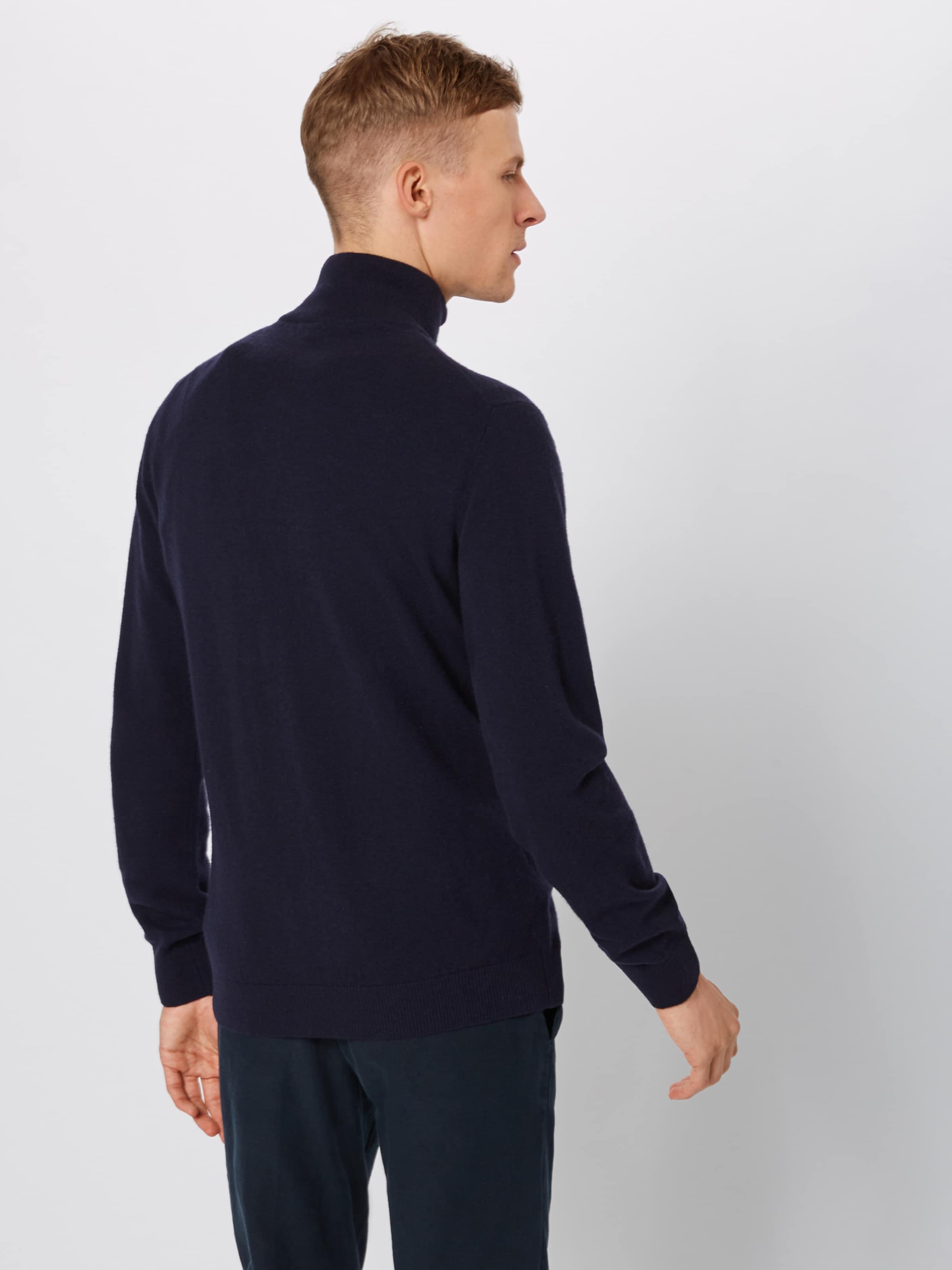 Demi Marine Pullover Lacoste In Col 'tricot Montant z' zMSVqUpG