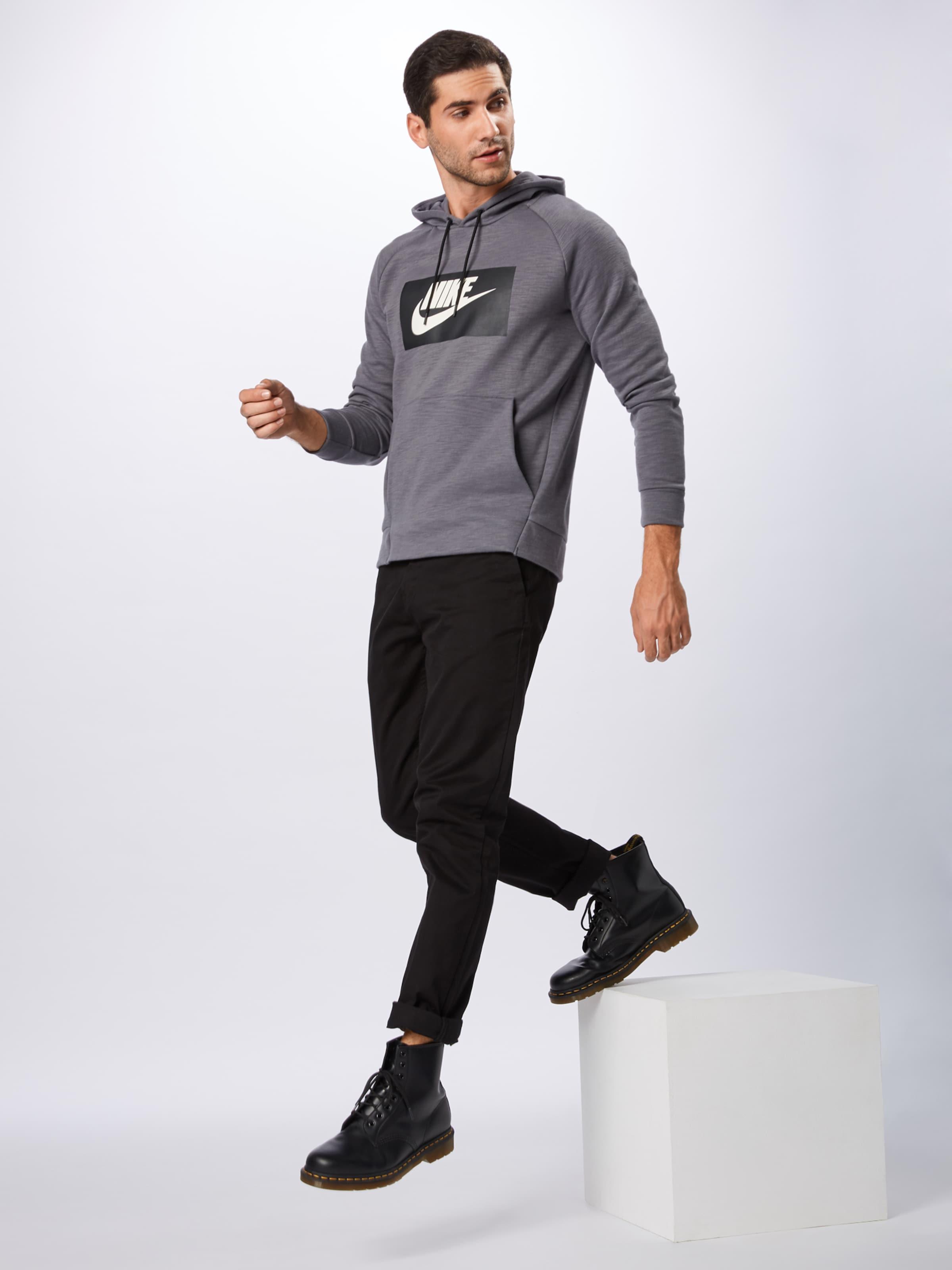 DunkelgrauSchwarz In 'optic' Weiß Sweatshirt Sportswear Nike SpqVzUM