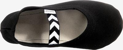 Hummel Gymnastikschuh in schwarz / weiß, Produktansicht