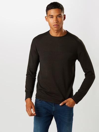 BLEND Pullover in schwarz: Frontalansicht