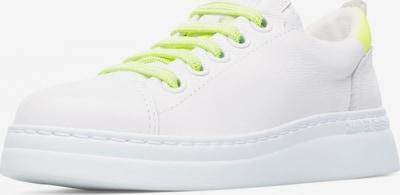CAMPER Sneaker 'Runner' in neongelb / weiß: Frontalansicht