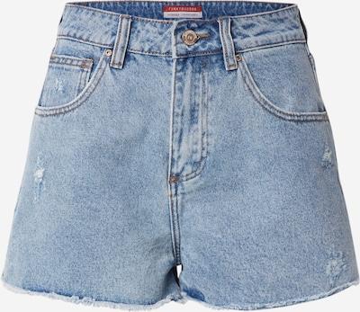 Funky Buddha Jeansshorts in blue denim, Produktansicht
