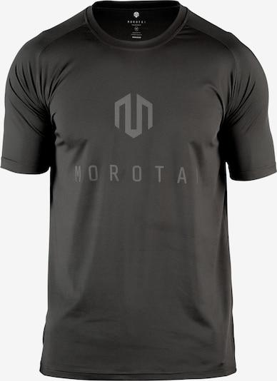 MOROTAI T-Shirt 'Performance Basic' in dunkelgrau / schwarz, Produktansicht