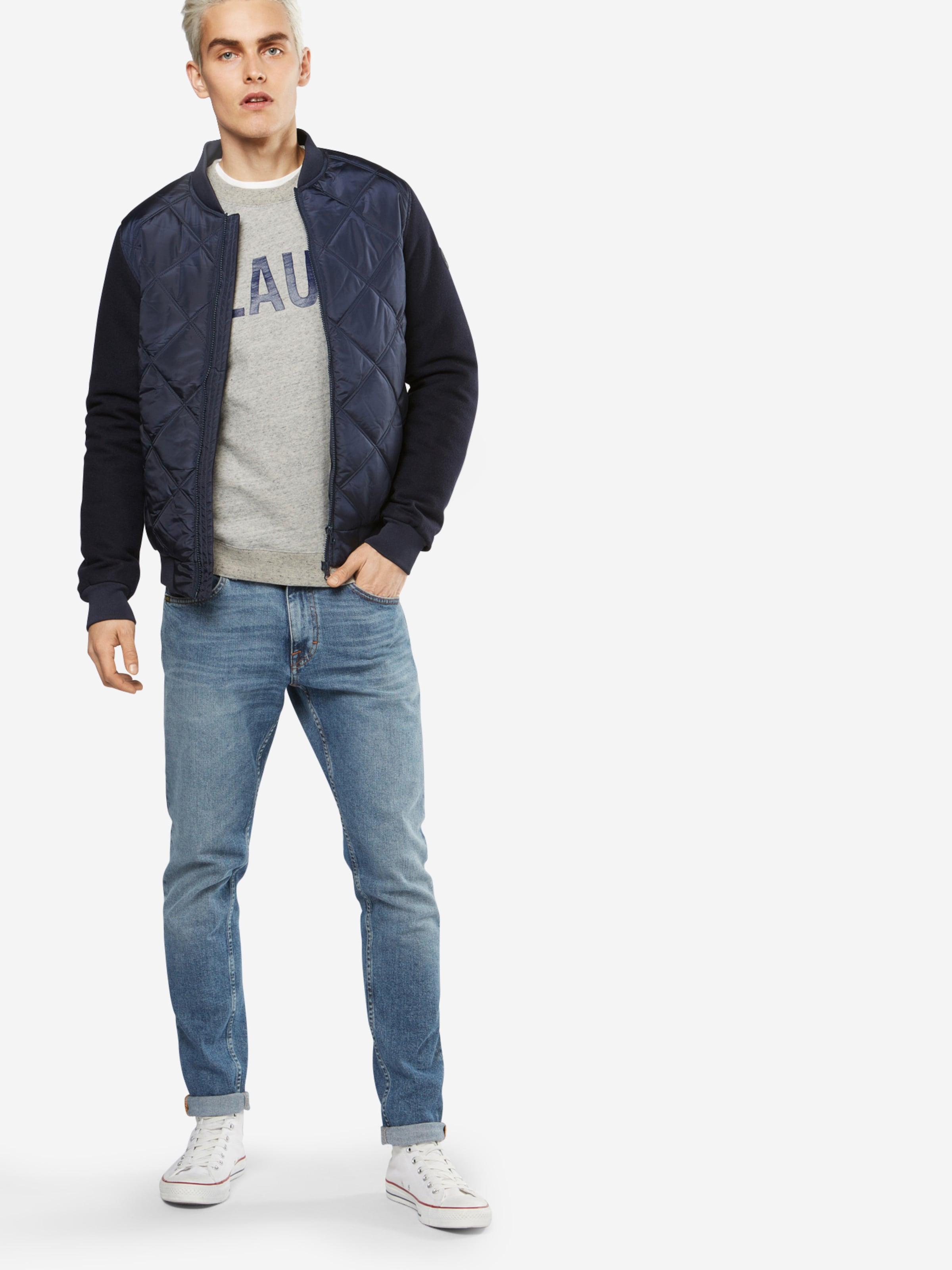 SCOTCH & SODA Sweatshirt 'Ams Blauw classic printed brand sweat' Günstigsten Preis Online Auf Heißen Verkauf xHOjR4Wk