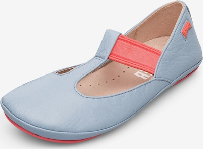 CAMPER Ballerina 'Right' in blau / pink, Produktansicht