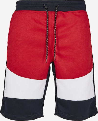 SOUTHPOLE Shorts in navy / rot / weiß, Produktansicht