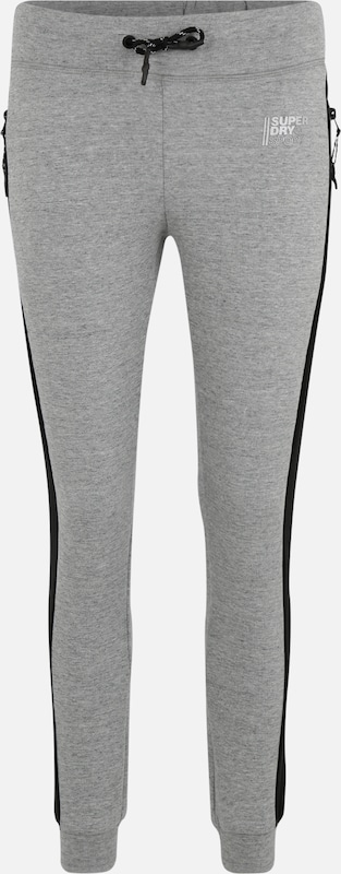 Superdry Sport-Hosen 'CORE GYM TECH LOOSE JOGGERS' in grau, Produktansicht