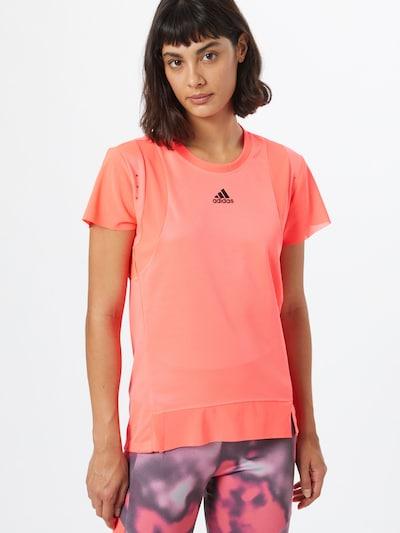 ADIDAS PERFORMANCE Functioneel shirt in de kleur Lichtrood: Vooraanzicht