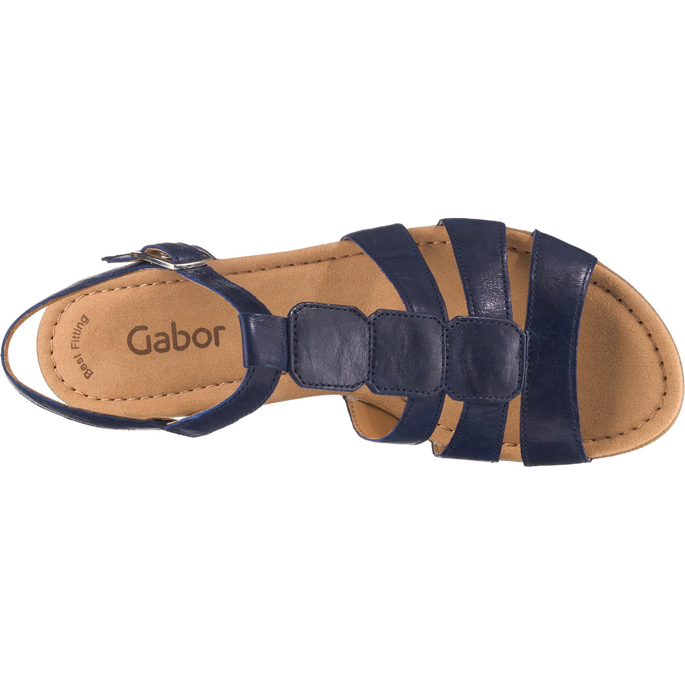 Sandalen In Gabor In Dunkelblau Gabor Sandalen n08wPkOX