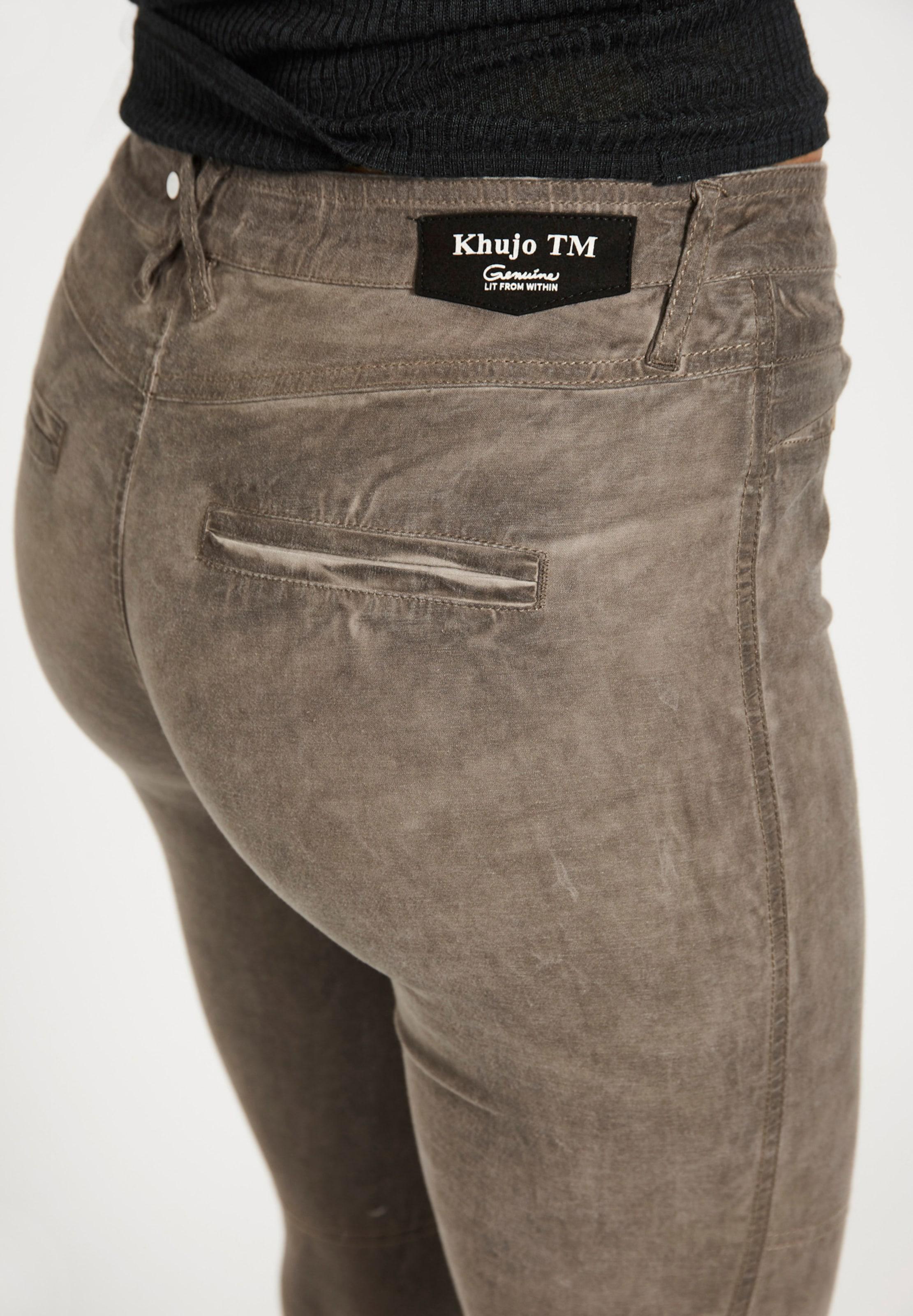 En 'hermina' Pantalon En Pantalon Marron 'hermina' Khujo Khujo qpUzSVGM