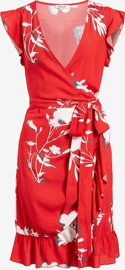 Rochie de vară 'Emery' khujo pe gri închis / roși aprins / alb, Vizualizare produs
