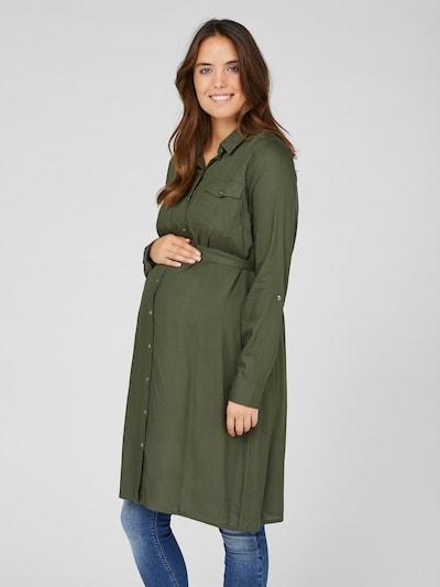 MAMALICIOUS Kleid 'MERCY' in khaki, Modelansicht