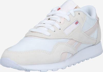 Sneaker low Reebok Classic pe crem / alb / alb perlă, Vizualizare produs