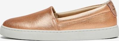 NINE TO FIVE Schuhe ' Slip Sneaker #sarria copper cotton ' in bronze, Produktansicht
