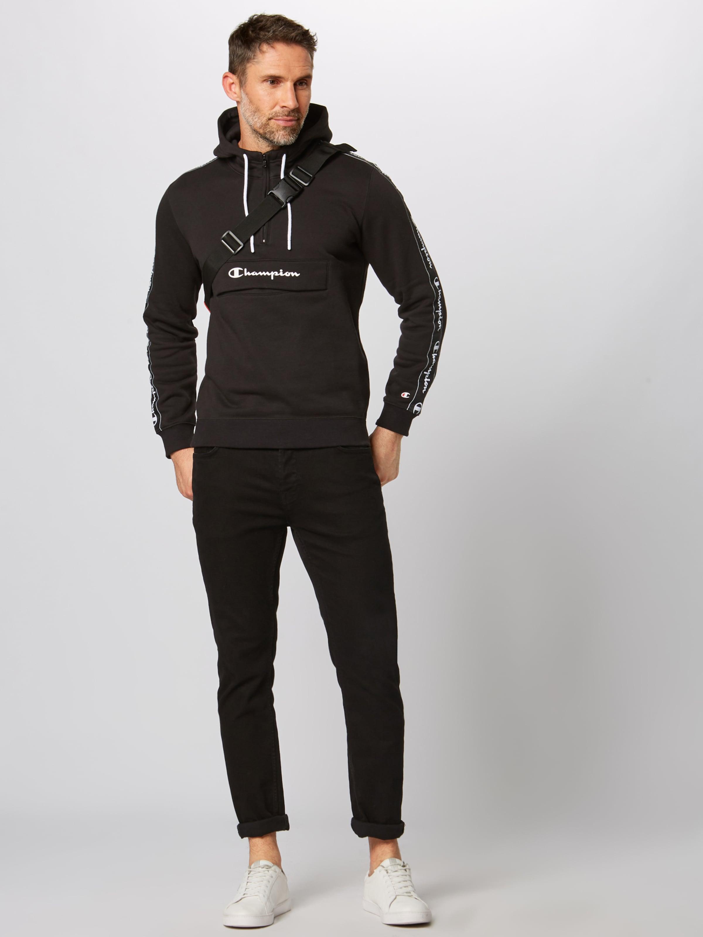 shirt Champion Athletic En Apparel Noir Authentic Sweat CxBEreWQdo
