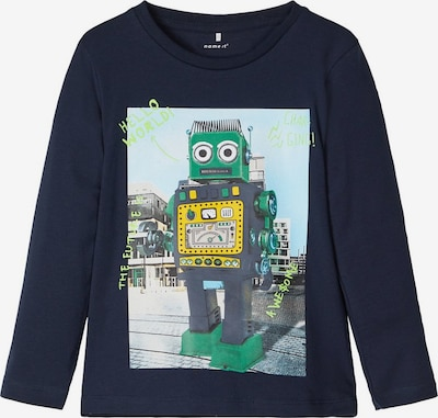 NAME IT Shirt in dunkelblau / mischfarben, Produktansicht