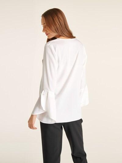 heine Bluzka w kolorze białym: Widok od tyłu