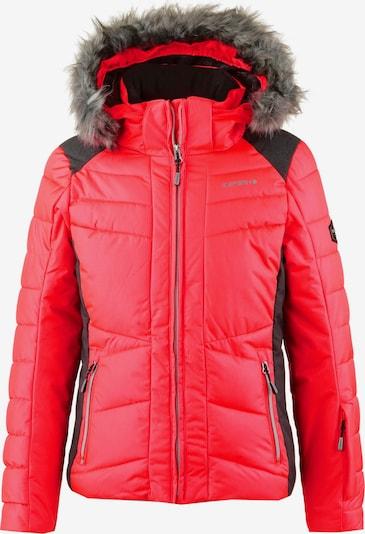 ICEPEAK Skijacke in rot / schwarz, Produktansicht