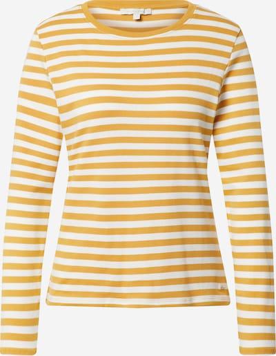 TOM TAILOR DENIM Shirt in honig / weiß, Produktansicht