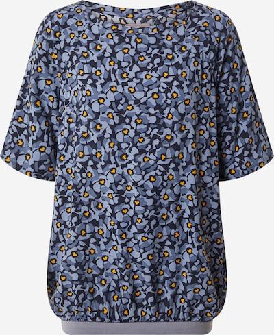 LIEBLINGSSTÜCK Blouse 'Rejane' in de kleur Navy / Lichtblauw / Geel, Productweergave