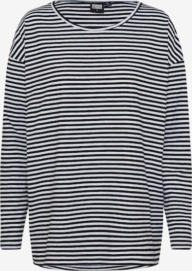Urban Classics T-shirt oversize en noir / blanc, Vue avec produit