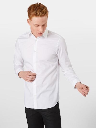 JACK & JONES Hemd in weiß: Frontalansicht