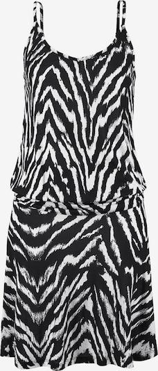 BEACH TIME Strandjurk in de kleur Zwart / Wit, Productweergave