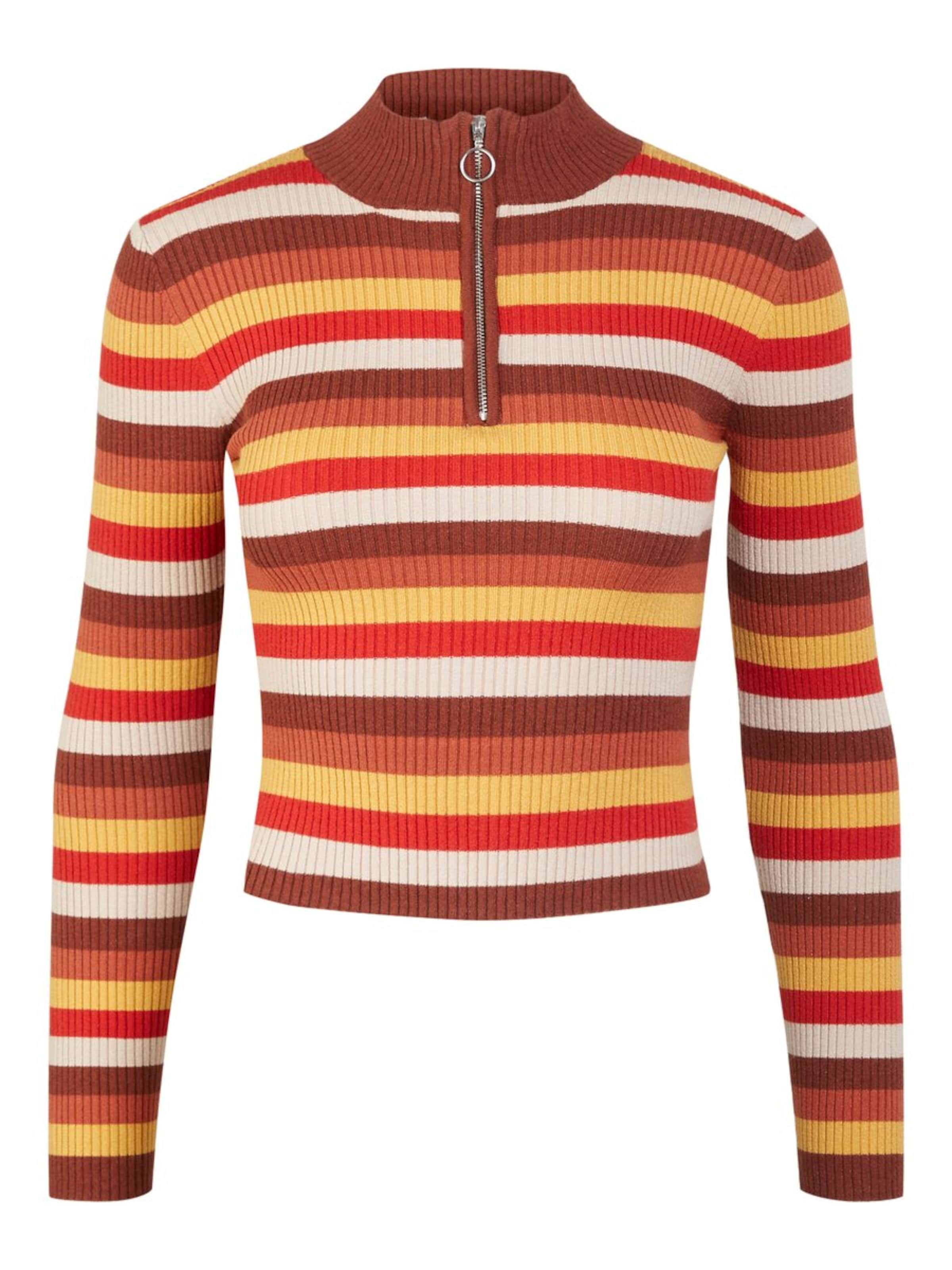 Pieces En Rouge CamelCaramel over Pull Moutarde 0Pn8Owk