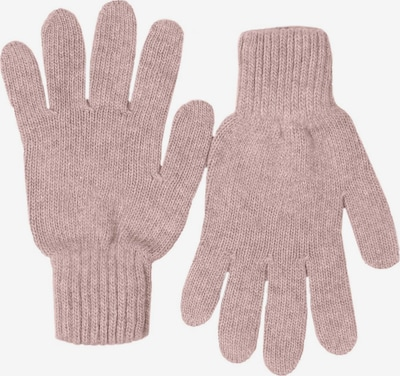 Zwillingsherz Kurzfingerhandschuhe in rosa, Produktansicht