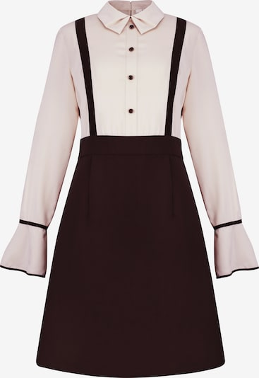 CUBIC Kleid in braun / rosa, Produktansicht
