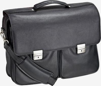 Dermata Aktentasche in schwarz, Produktansicht