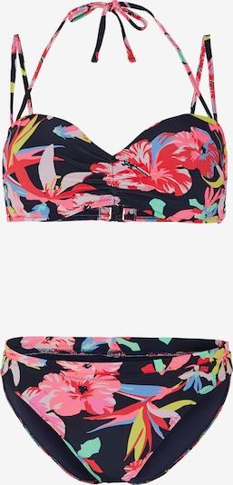 CHIEMSEE Bikini deportivo en azul oscuro / rosa, Vista del producto