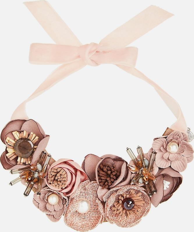 HALLHUBER Statement-Halsband mit 3D-Blüten