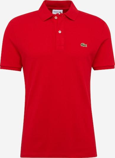 Tricou LACOSTE pe roșu, Vizualizare produs