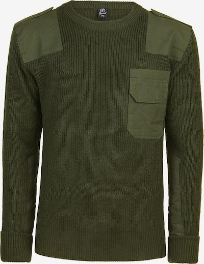 Brandit Pullover 'Military' in oliv, Produktansicht