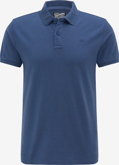 Petrol Industries Poloshirt in blau: Frontalansicht