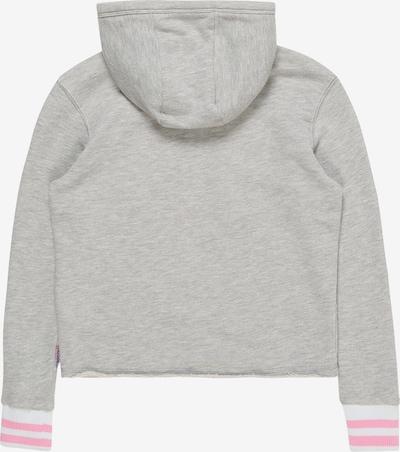Megztinis be užsegimo 'Nironne' iš VINGINO , spalva - šviesiai pilka: Vaizdas iš galinės pusės