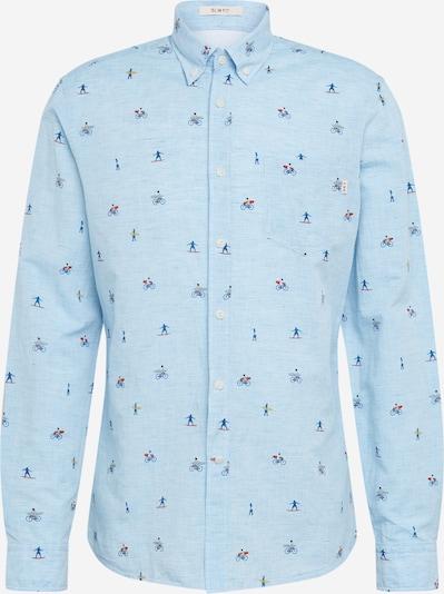 Dalykiniai marškiniai 'HKT COT LN SURFER' iš HKT by HACKETT , spalva - mėlyna, Prekių apžvalga