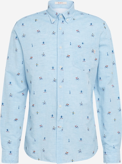 HKT by HACKETT Hemd 'HKT COT LN SURFER' in blau, Produktansicht