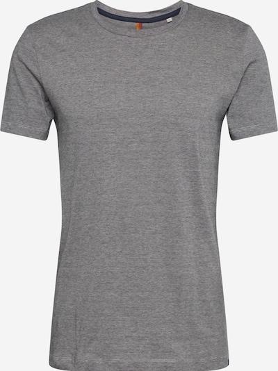 Marc O'Polo T-Shirt in dunkelblau / naturweiß, Produktansicht