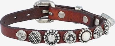 Campomaggi Armband in braun / grau, Produktansicht