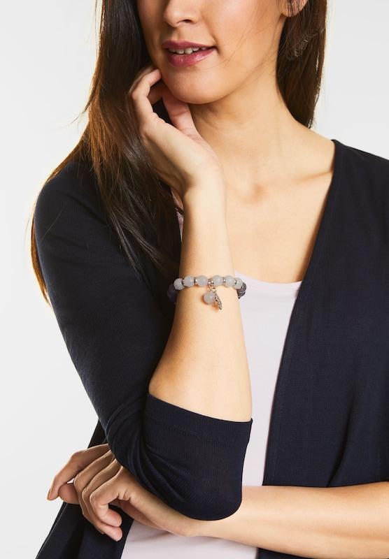 STREET ONE Armband mit Natursteinperlen