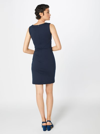 Kaffe Kleid 'Sara' in nachtblau: Rückansicht