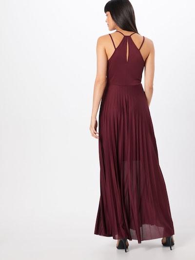 ABOUT YOU Robe d'été 'Falda' en rouge foncé: Vue de dos