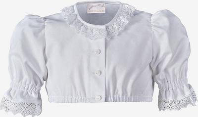 HOHENSTAUFEN Kinder Dirndlbluse in weiß, Produktansicht