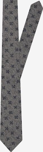 Jacques Britt Krawatte 'Custom Fit' in dunkelblau / graumeliert, Produktansicht