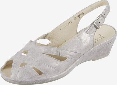 SEMLER Sandalen in perlweiß, Produktansicht