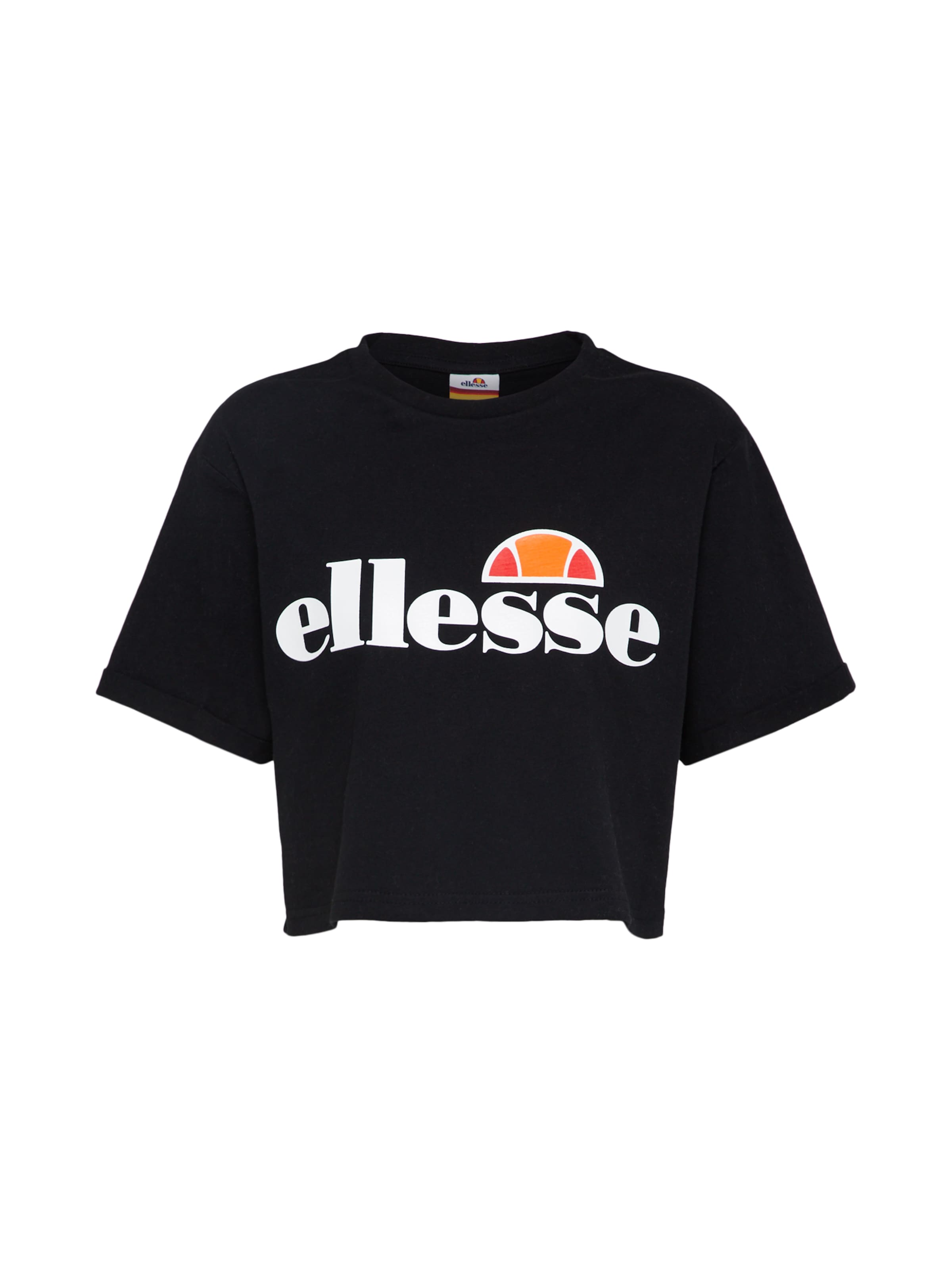 Blanc OrangeRouge 'alberta' Noir shirt En Ellesse T TOiPuZkX