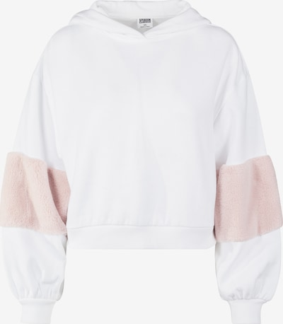 Urban Classics Sweatshirt in altrosa / weiß, Produktansicht